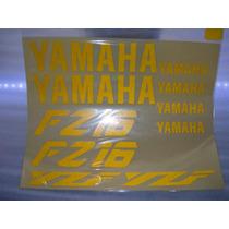 Calcomanias Yamaha Fz-16 Amarillo Reflejante