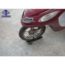 Carrito Para Motocicleta Con Llanta Ponchada
