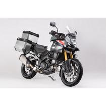 Kit Suzuki Vstrom1000 2014 Maletas Laterales Metalicas Moto