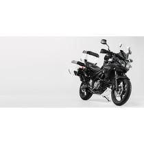 Kit Suzuki Vstrom650 Maletas Laterales Metalicas Moto