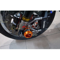 Sliders Eje Rueda Bws 125 100% Aluminio Cnc