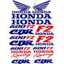Kit De Calcomanias Para Moto Honda Cbr 600 F2