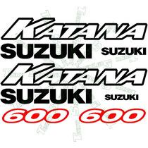Jgo De Calcomanias Para Suzuki Katana 600