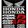 Kit De Calcomanias Para Moto Honda Cbr 600 F3