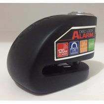Candado Xena Con Alarma Xx6-bk Para Motos