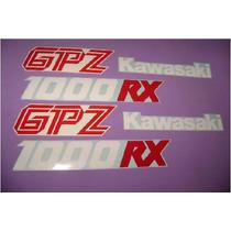 Kit De Calcomanias Para Moto Kawasaki Gpz 1000rx