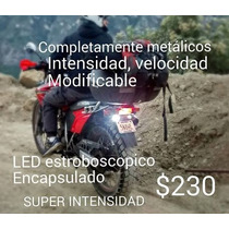 Luz Estrobo Intermitente Led Motocicleta Seguridad Potente