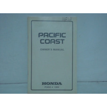 Manual Honda Pacific Coast Pc800 - 1989