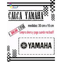 Sticker Yamaha Para Motocicletas