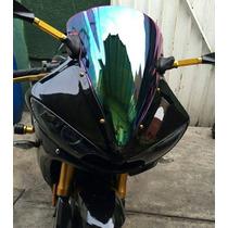 Mica Parabrisas Windshield Iridium Moto Yamaha R6s 03-09