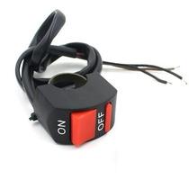 Switch Para Manubrio De Moto 7/8 Faros Estrobos Leds