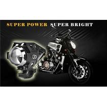 Par De Luces Led Exploradoras Para Motocicleta Envio Gratis!