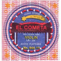 Cuerda 2a El Cometa Para Violín, 12 Piezas Acero .013 906