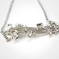 Preciosos Dijes De Instrumentos Musicales Dije De Pentagrama