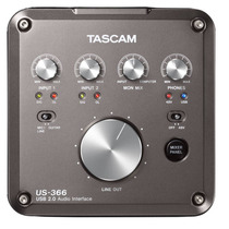 Tascam Us-366 4-in6-out Or 6-in4-out Usb Audio Interface Vbf