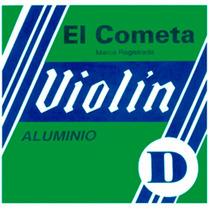 Cuerda 2a El Cometa Para Violín, 12 Piezas Acero .018 715