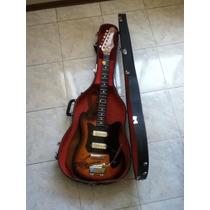 Estuche Duro Case Guitarra Acústica Eléctrica Fender Gibson