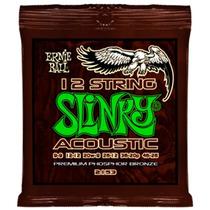 Encordado Guitarra Acústica Slinky 12 Cdas Ernie Ball 2153