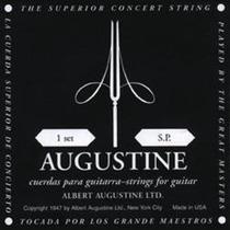 Encordado Augustine Empaque Negro Guitarra Clásica