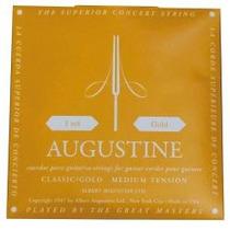 Hm4 Encordado Augustine Empaque Dorado Guitarra Clásica