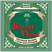 Cuerda 4a Jimmy Wess Guit. Acústica, 6 Pzs Bronce F .30 Wb30