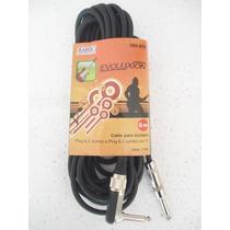 Cable De Línea Para Instrumento O Bafles, Plug A Plug 6 Mts.