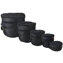 Gearlux De 5 Piezas De Lujo Acolchado Drum Bag Set