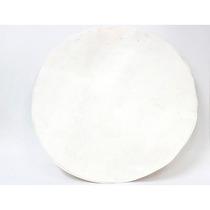 Parche Para Conga El Cometa 20 Cuero Blanco 5m