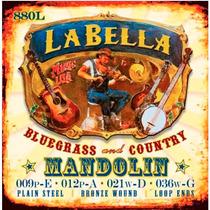 Encordado La Bella Para Mandolina, 8 Cuerdas 880l