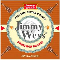 Cuerda 4a Jimmy Wess Guit. Acústica, 6 Pzs Bronce F .32 Wb32