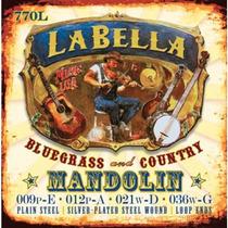Encordado La Bella Para Mandolina, 8 Cuerdas Mod.770l