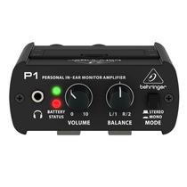 Amplificador Personal De Audifonos In-ear - Behringer P1