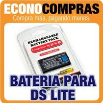 Bateria Para Nintendo Ds Lite + Desarmador 100% Nuevo