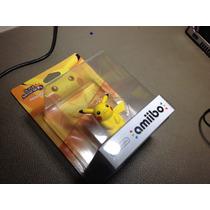 Nintendo Wii U - Ammibo Pikachu - Para Super Smash Bros