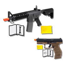 Marcadora Airsoft Electrica Elite Force M4 Cqb Bbs 6mm Xtre