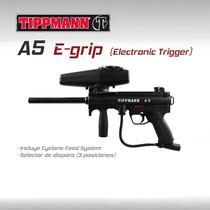 Tippmann A5 Egrip Automatica Gun Marcadora Gotcha Paintball