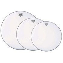 Set De Parches Remo Emperor Clear 12, 13 Y 16