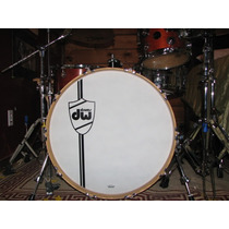 Parche Frontal Para Bombo Dw (mapex,dw,pearl,ddrum,sonor)