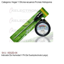 Indicador De Humedad Y Ph Del Suelo(electrodo Largo)