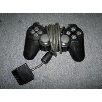 Control Dual Shock 2 Para Play Station 2 Color Negro
