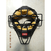 Careta Rawlings Catcher Negra