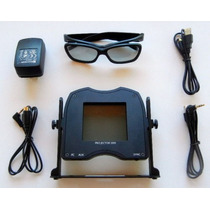 Smartcrystal-passive 3d Para Sony Vpl-vw90es, Vpl-hw30aes