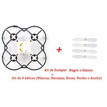Kit De Protector Bumper+set De 4 Hélices Cheerson Cx10- 10a