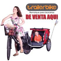 Remolque De Bicicleta Niñ@s Mascota Perro Bicicleta Jalon