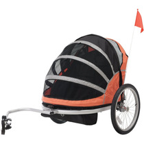 Carreola Remolque Para Bici Trailer Niños Doble Hm4