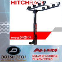 Nuevo Allen 542rr Rack Porta 4 Bicicletas P/vehículos C/hitc