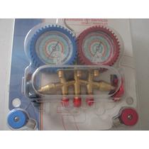 Manifold Para Aire Acondicionado Automotriz Y Minisplits