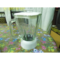 Vaso Cristal Oster Cube Con Tapa, Base Y Aspas