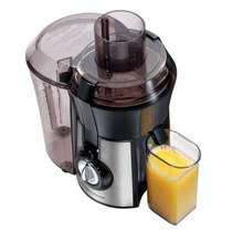Hamilton Beach Big Mouth Extractor De Jugo Negro/plateado