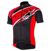 Alpinestars Nemesis Jersey Negro / Rojo
